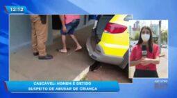 Cascavel: homem é detido suspeito de abusar de criança