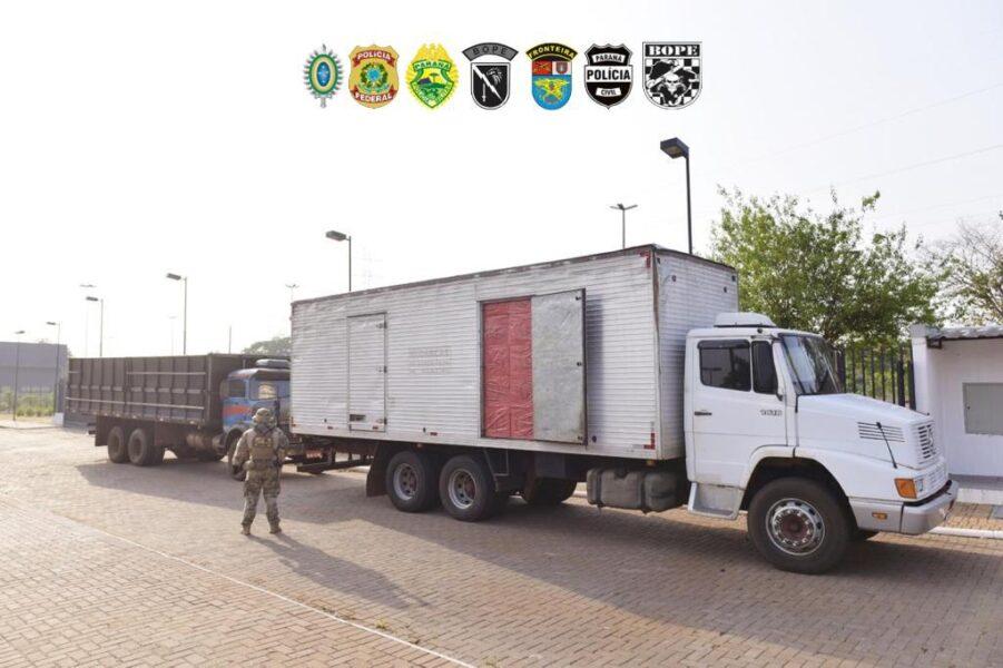 Polícia apreende mais de R$ 2 milhões em cigarros contrabandeados durante Operação Horús