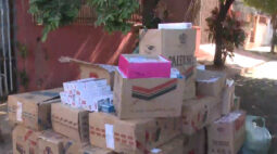 Cigarros contrabandeados são apreendidos em Londrina; homem diz que a venda é por causa da crise durante a pandemia