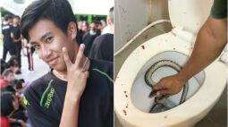Jovem é picado nas partes íntimas por cobra em vaso sanitário