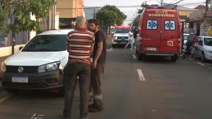 Criança de quatro anos é atropelada no centro de Londrina; estado é grave