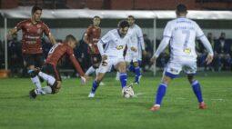 Cruzeiro perde para o Brasil de Pelotas e amplia sequência sem vitória na Série B