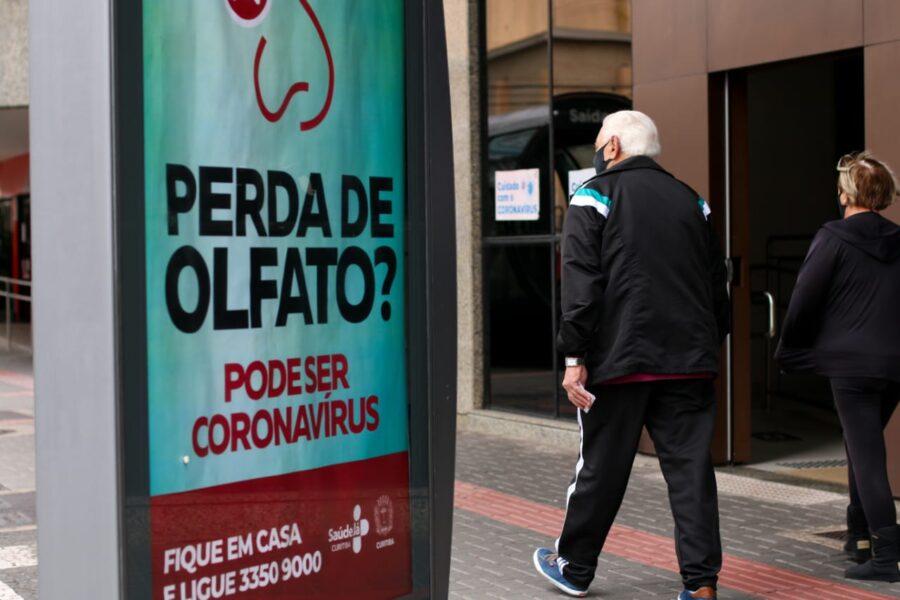Boletim de Curitiba aponta 10 novas mortes por covid-19 e 446 novos casos de infecção