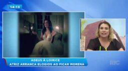 Luana Piovani aparece morena nas redes sociais e surpreende fãs