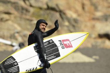Caetano Vargas foi atrás das ondas chilenas