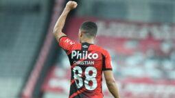 Athletico vence o Bahia por 1×0 e chega a quarta vitória consecutiva