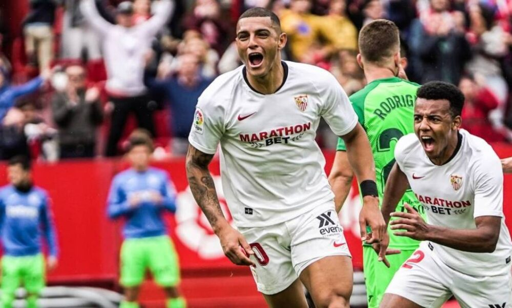 """Diego Carlos se diz feliz no Sevilla, mas deixa futuro em aberto: """"Não sei o que pode acontecer"""""""