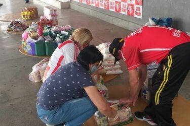 Equipe de futebol amador de Curitiba arrecada alimentos durante pandemia