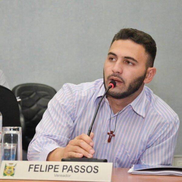 Pré-candidato a prefeitura de Ponta Grossa, Felipe Passos (PSDB), concede entrevista para a Joven Pan