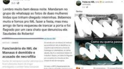 Festa no IML: grupos de rede social encorajam necrofilia