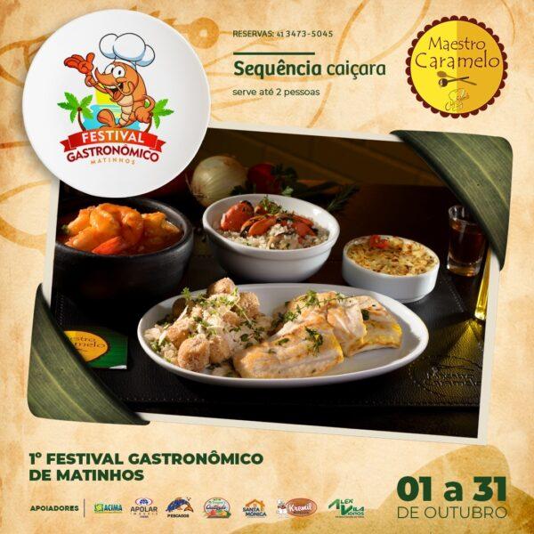 1º Festival Gastronômico de Matinhos
