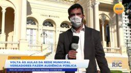 Volta às aulas da rede municipal: vereadores fazem audiência pública