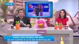 Silvio Santos é alvo de investigação depois de ter feito piada com criança em 2016
