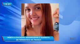 Maringaense é suspeito de cometer feminicídio na França