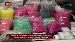 Operação prende envolvidos com tráfico de drogas em Colombo