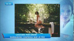 Bruna Marquezine revela qual foi a maior loucura de amor que ela já fez
