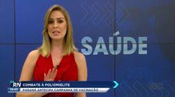 Combate à poliomielite Paraná antecipa campanha de vacinação