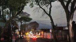 Confira a lista de cidades paranaenses que podem ser atingidas hoje (17) por chuvas, ventos e granizo