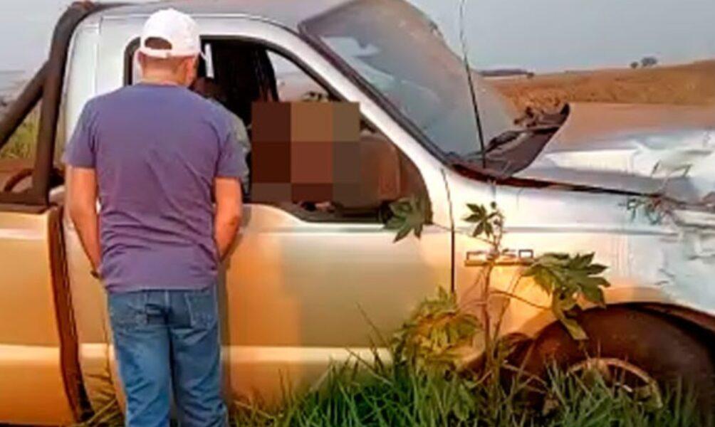 Medico de Maringá morre próximo a Janiópolis após capotar caminhonete