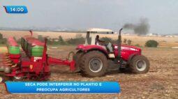 Seca pode interferir no plantio e preocupa agricultores