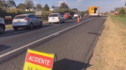 Motorista morre em acidente na BR-277, em Campo Largo