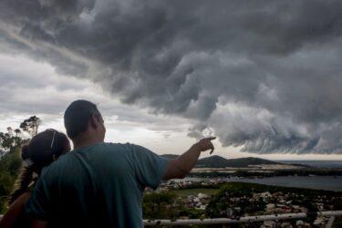 Novo ciclone bomba pode provocar fortes ventos no litoral do Paraná; veja previsão!