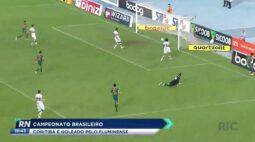 Campeonato brasileiro: Coritiba é goleado pelo Fluminense