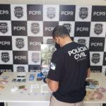 Polícia faz operação contra tráfico de drogas e prende 5 pessoas em Curitiba