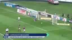 Campeonato Brasileiro VAR entra em ação e Coritiba vence o Vasco