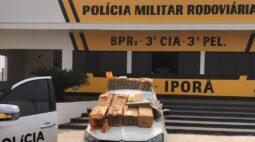 Perseguição acaba com motorista preso e 240 kg de maconha apreendidos em Iporã