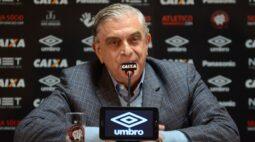 Petraglia se manifesta sobre não pagamento de cotas para  equipes rebaixadas à Série B