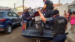 Moto com placa clonada em Londrina é localizada e apreendida