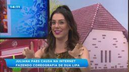 Juliana Paes causa na internet dançando coreografia de música internacional