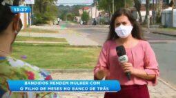 Bandidos rendem mulher, roubam carro e quase levam bebê de três meses