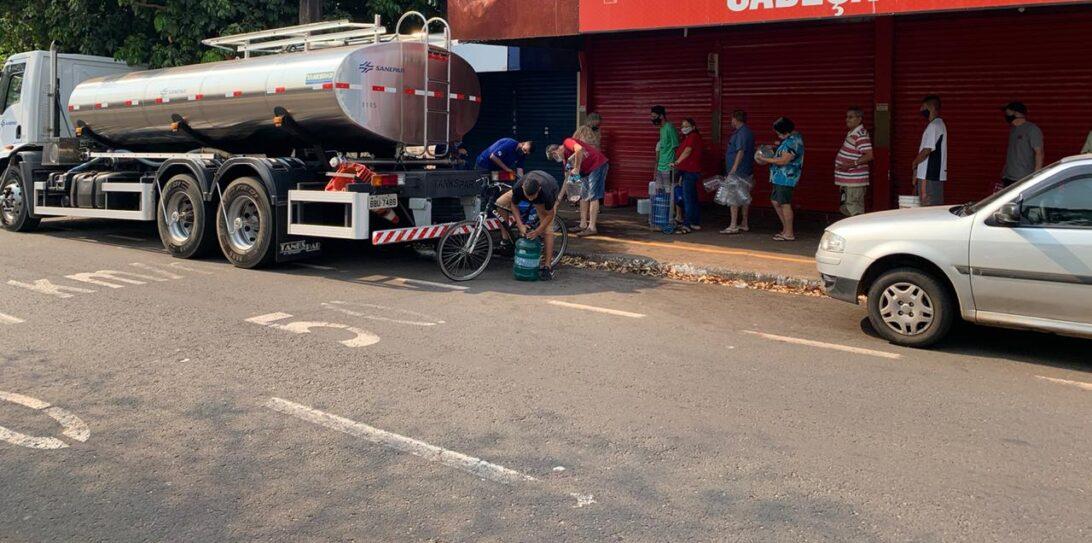 Sanepar é multada em R$ 5,1 milhões pelo Procon após falta de água em Maringá