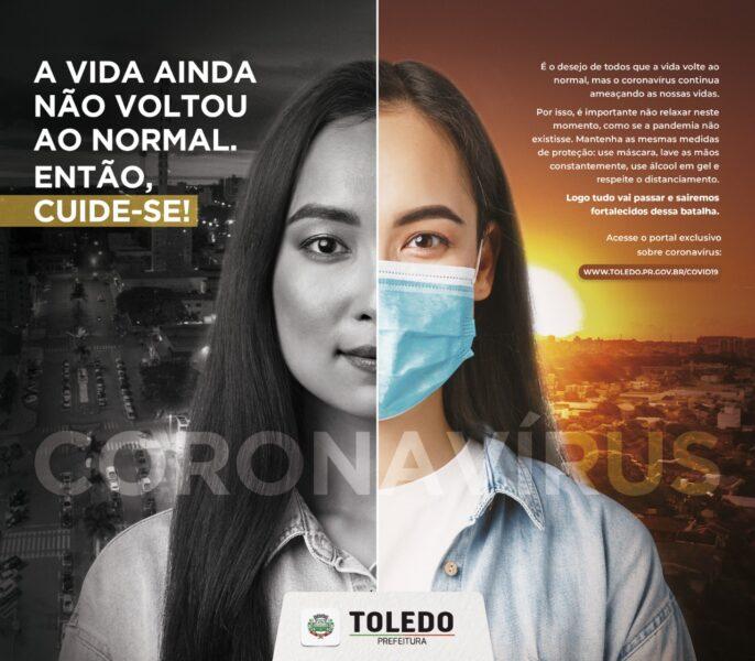 Colaboração de todos segue sendo fundamental para Toledo vencer a Covid-19