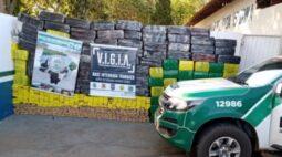 Operação Hórus: Policiais do PR e MS apreendem mais de 2 toneladas de maconha em Icaraíma
