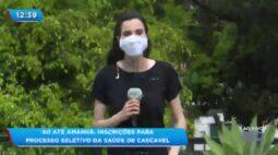 Inscrições para processo seletivo da saúde de Cascavel podem ser feitas até quinta-feira