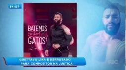 Gusttavo Lima sofre a primeira derrota na justiça por causa de direitos autorais de música