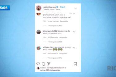 Zé Neto posta foto de sunga e Instagram censura imagem