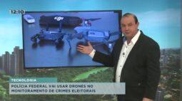 Drones serão usados nas eleições contra crimes eleitorais