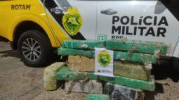 Polícia Rodoviária apreende mais de 150 kg de maconha em Perobal