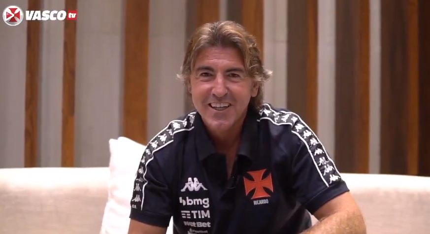 Ricardo Sá Pinto é apresentado oficialmente como novo técnico do Vasco