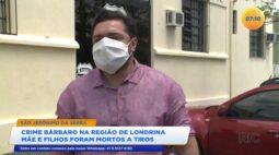 Mãe e filho foram mortos a tiros em Londrina
