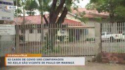 52 casos de covid são confirmados no asilo São Vicente de Paulo em Maringá