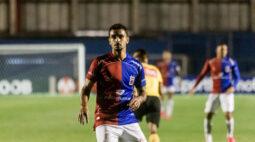 Bruno Gomes está feliz com  momento individual, mas diz que é hora de pensar no clube
