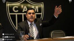Presidente do Atlético-MG explica vazamento de informações de relatórios