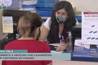 Aumenta a procura por casamentos em cartórios no Paraná