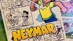 De Pelezinho a Neymar: Cartunista Maurício de Souza celebra 85 anos com ligações ao futebol