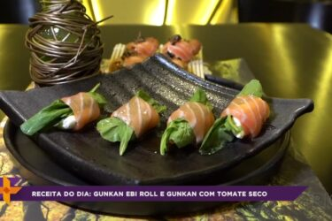 Receitas orientais: Guakan ebi roll e guakan com tomate seco
